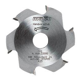 Fresa de disco, 100 x 22 mm, Z 6, equipada con metal duro - 076905_ONLINE
